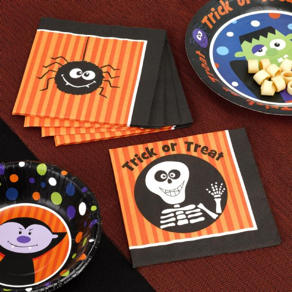 Trick Or Treat Napkins (20)